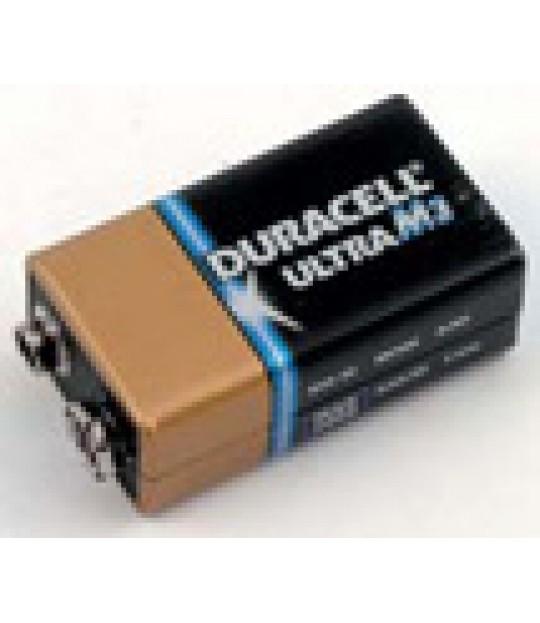 Batteri 9 V til magnetventilar