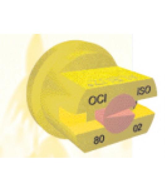 Flatdyse AXI 110-02 Gul