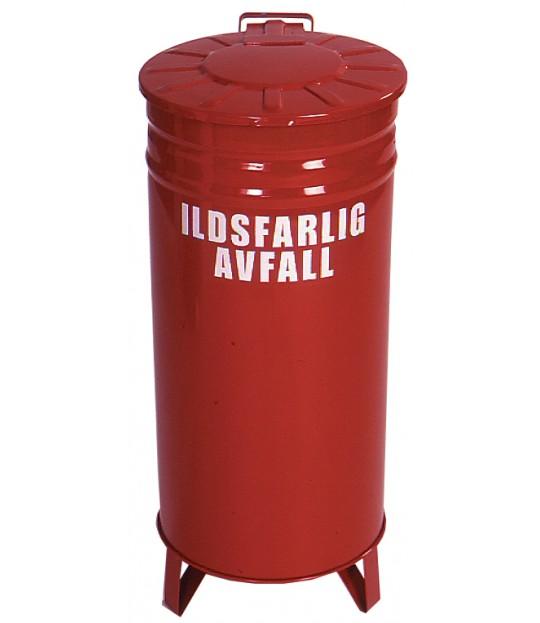 Avfallsbeholder Ildsfarlig avfall 70 liter