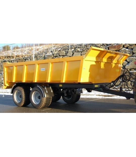 Dumperhenger Dinapolis RAEX 9,5 tonn, 520/50x17 hjul