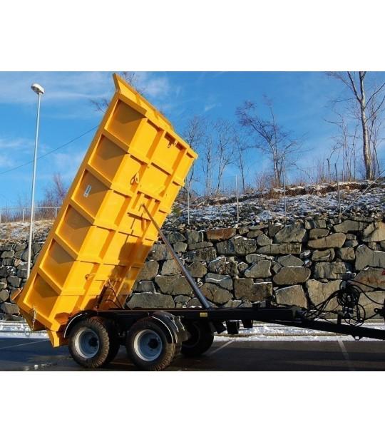 Dumperhenger Dinapolis 9,5 tonn, 520/50x17 hjul