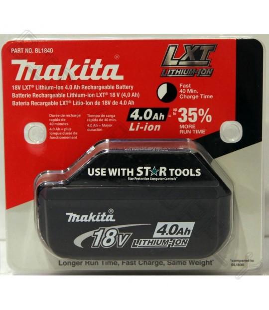 Makita Batteri BL1840 18V/4,0Ah