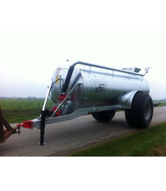 Kombijetvogn Garcia, 10000 liter Boggi
