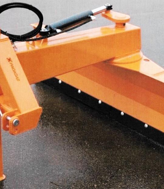 Hydraulisk skjær Padagas 245 cm Lagerslitt
