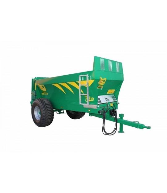 Tørrgjødselvogn Garcia Triton 75 - 8 m3