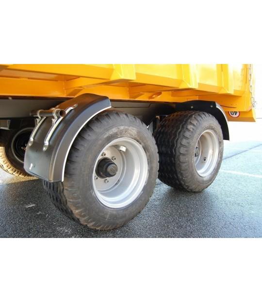 Dumperhenger Dinapolis 9,5 tonn, 400/60-15,5 hjul