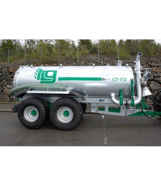 Vakumvogn Garcia, 8300 liter Boggi