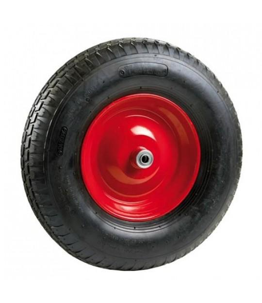 Trillebårhjul komplett 400x8-4 100mm