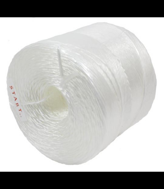 Veksthusgarn UV-tråd plast, 38 kg bruddstyrke, 3000 m, 3 kg