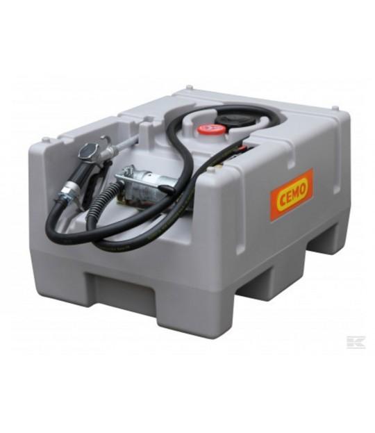 Dieseltank 125 liter CEMO 12 V pumpe