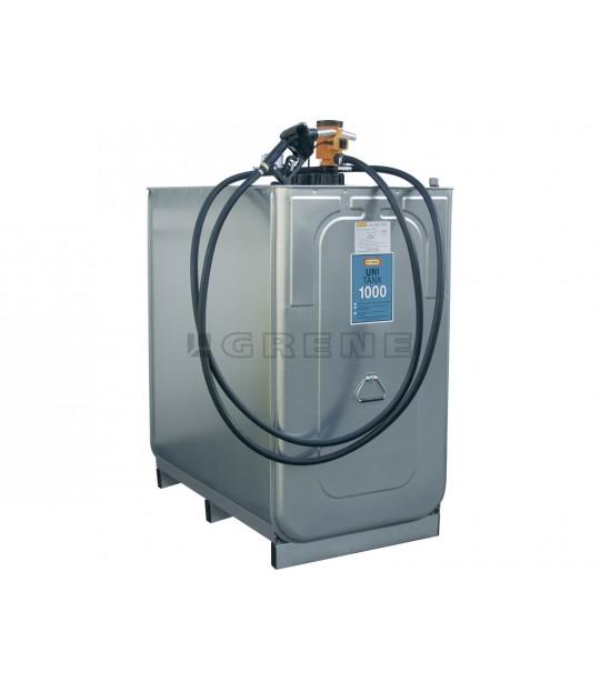 Dieseltank 1000 liter CEMO 230 V pumpe