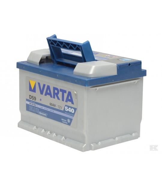 Startbatteri Varta 12 V 53 amp