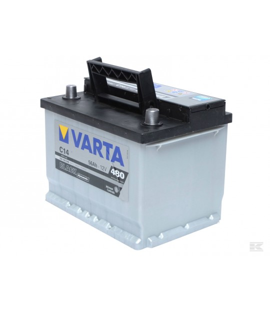 Startbatteri Varta 12 V 56 amp