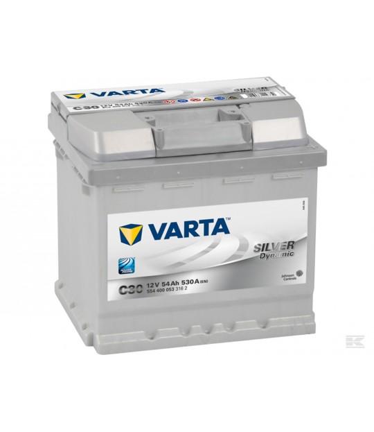 Startbatteri Varta 12 V 54 amp