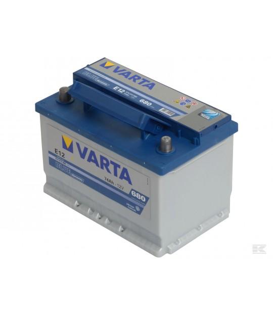 Startbatteri Varta 12 V 74 amp