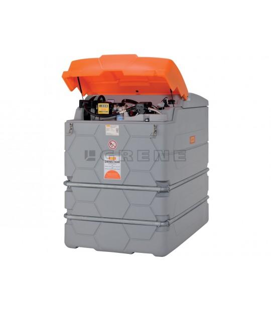 Diesel tank Premium 2500 l m. 230V el pumpe