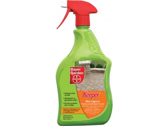 Ugressmiddel spray Keeper TOTAL 1 liter
