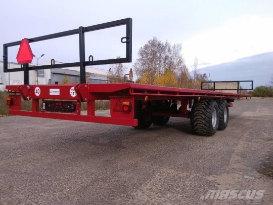 Rundballetralle Dinapolis RP 7500, 14 tonn