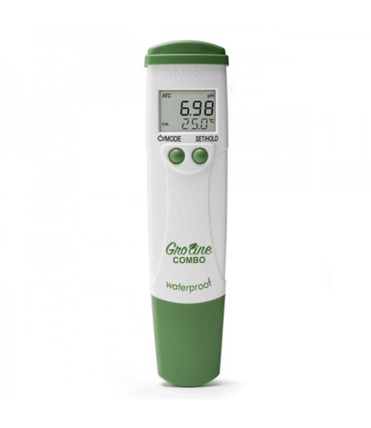 Kombimeter pH/EC/Temp Hanna Groline HI-98131