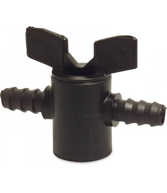 Slangekran PP 16 x 16mm innstikk, 3 bar