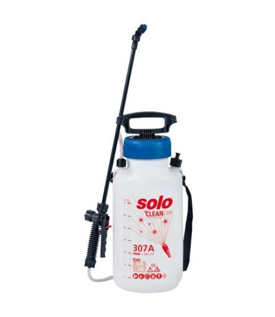 Lavtrykksprøyte Solo 307A, 7 liter, Viton ph 1-7