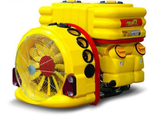 Tåkesprøyte ProJet StarMix Control 800 liter, 2 gear