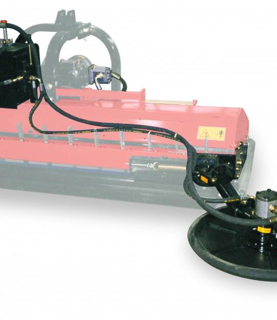 Kantknuser 60 cm for montering på beitepusser m/hydr. oppsving