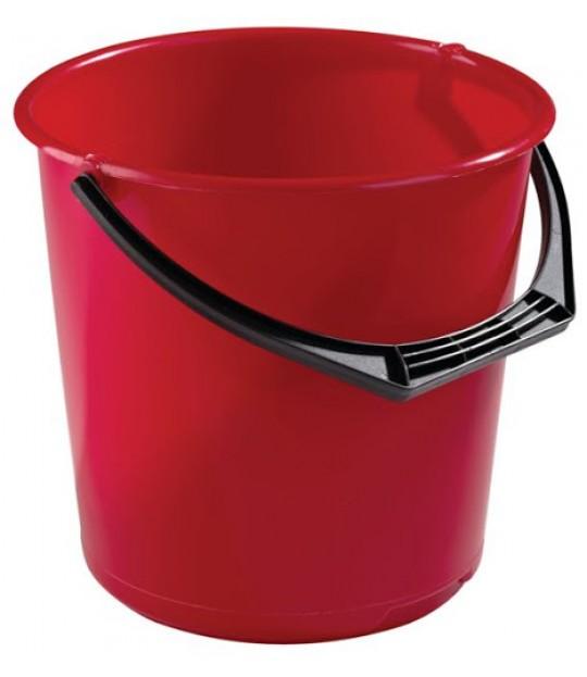 Bøtte m/hank 10 liter, ass.farger