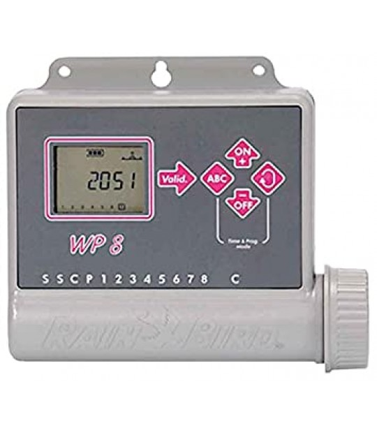 Styring Rain Bird WP8, 8 soner batteri