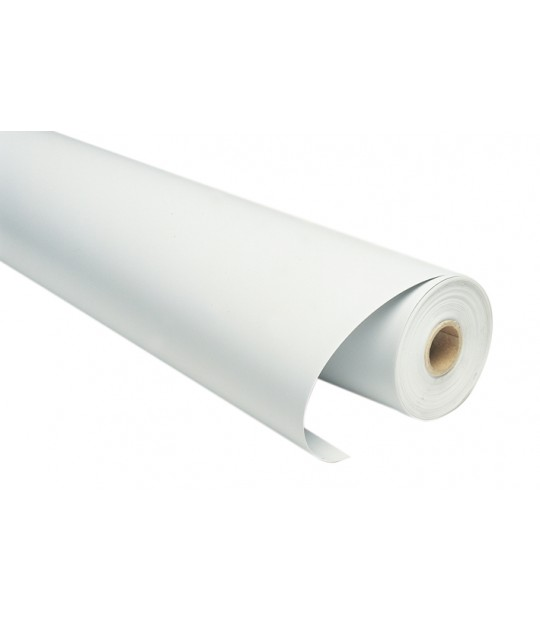 Plastfolie pakking tunnelplast, 1,40x100m, 40my Hvit