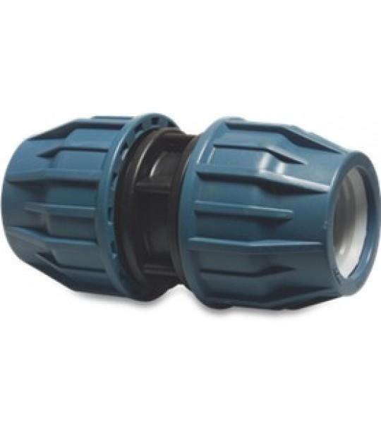 Skjøt Jason PP 75mm Jason 12,5 bar blå