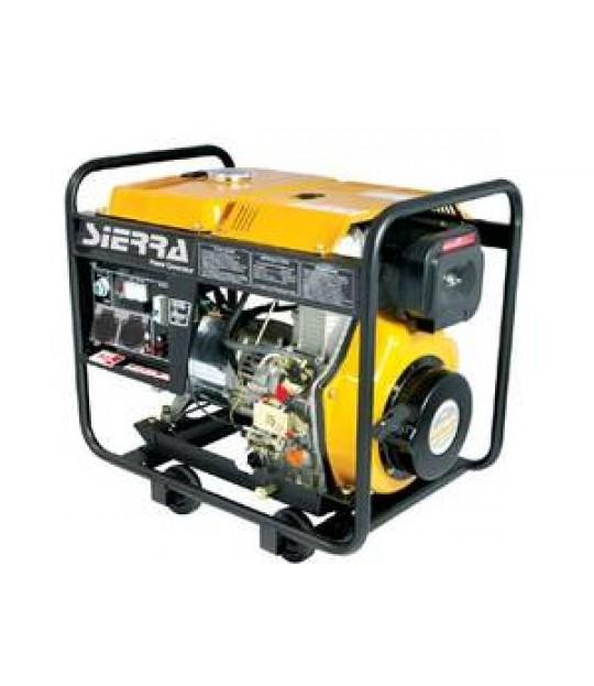 Strømaggregat Sierra Diesel 6 kw 230V 1 fas