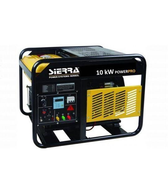 Strømaggregat Sierra Diesel 10 kw 400V 3 fas
