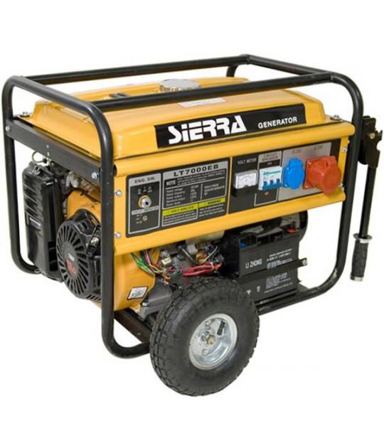 Strømaggregat Sierra 6 kw, 230V 1 fas og 400V 3 fas