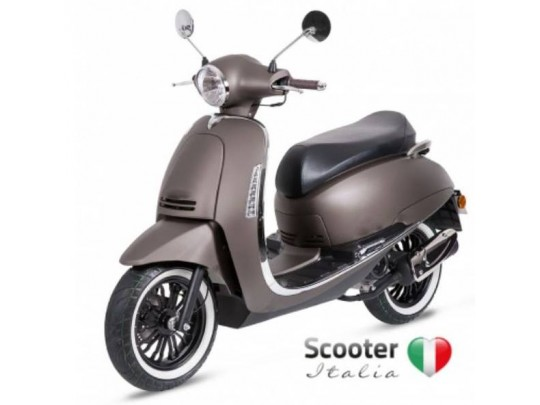 Scooter moped Vectra 49cc Matte grey 45 km/t