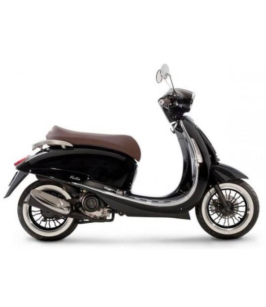 Scooter moped Vectra 49S høyglans svart 45 km/t