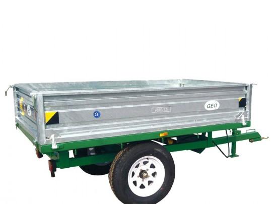 Traktortilhenger GEO RM 15 med tipp