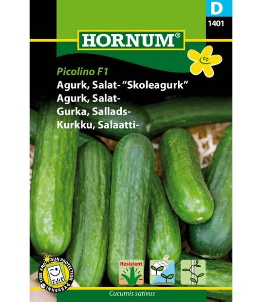 Frøpose Agurk salat, skoleagurk, Picolino F1 Prisgr. D