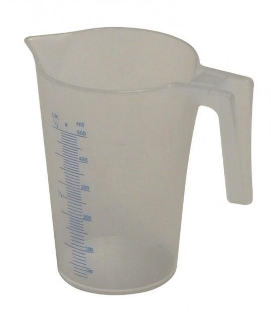 Målemugge, litermål, 0,5 liter, Mato J-PP 50