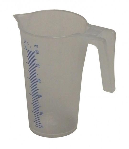 Målemugge, litermål, 0,25 liter, Mato J-PP 25