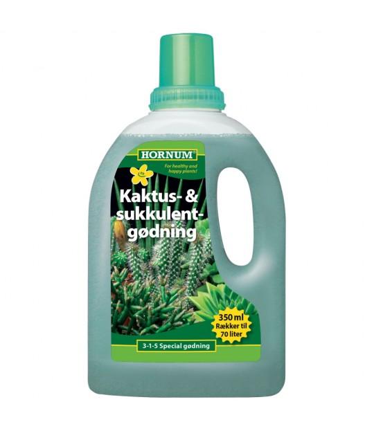 Kaktus- og sukkulentgjødsel flytende 350 ml