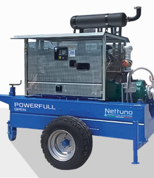 Motorpumpe MTP Powerfull open F100-103C Caprari