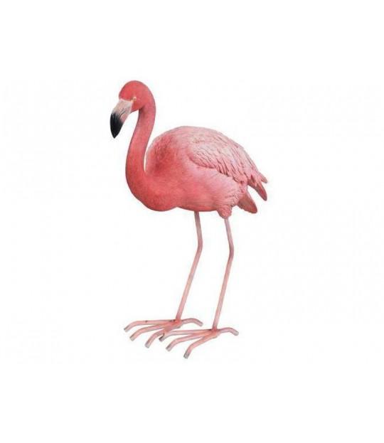 Hagefigur Flamingo